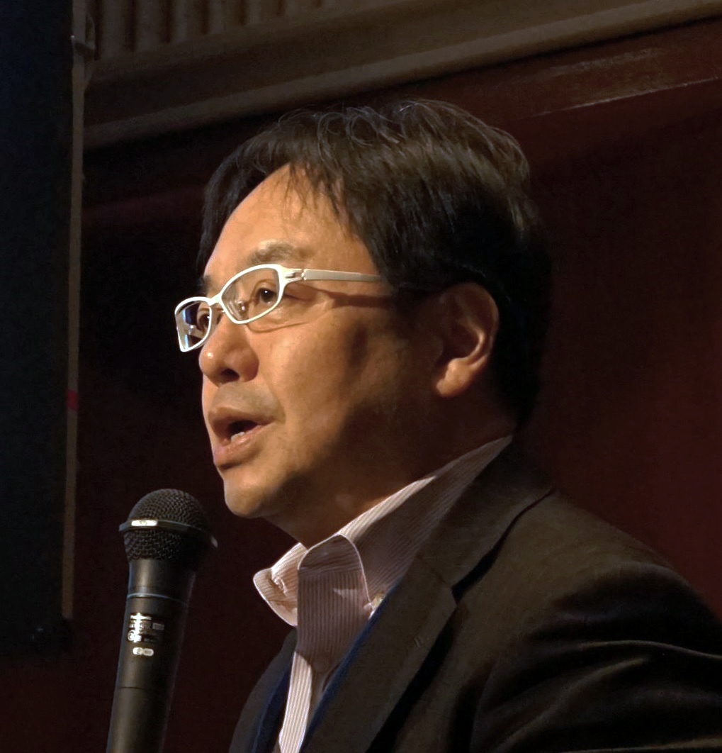 Intel日本公司首席服务架构师&业务与工程开发和政府政策总监Tsuguo Nobe照片