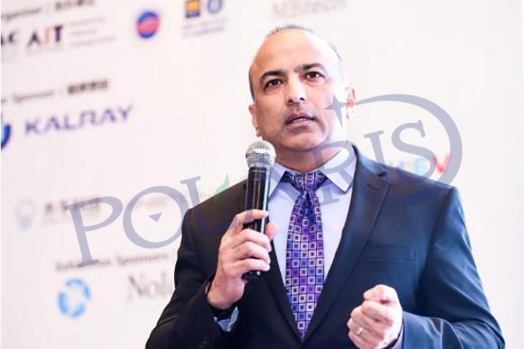 美国德韧汽车系统有限公司执行副总裁及首席技术官Sanjay Singh照片