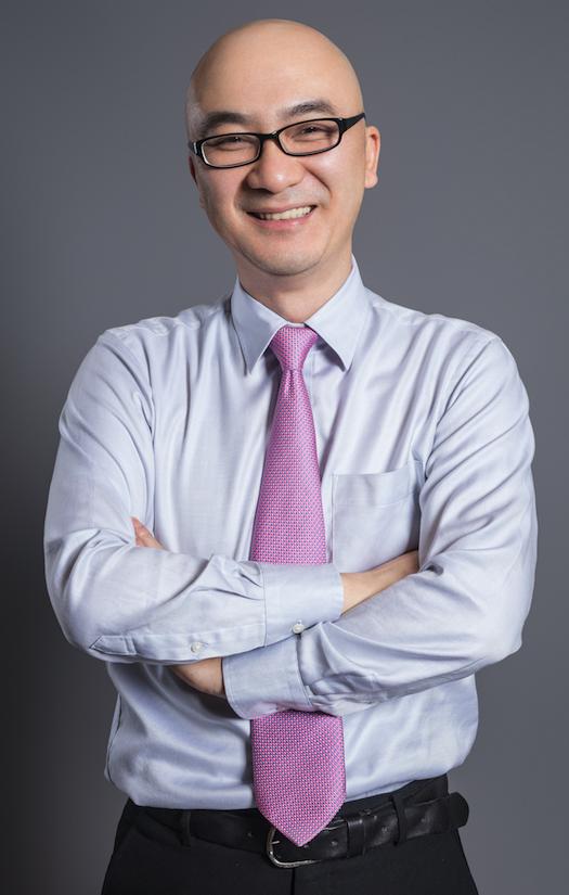 陆金所副总经理兼首席营销官潘飚照片