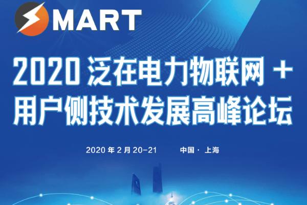 2020泛在電力物聯網+用戶側技術發展高峰論壇(上海)