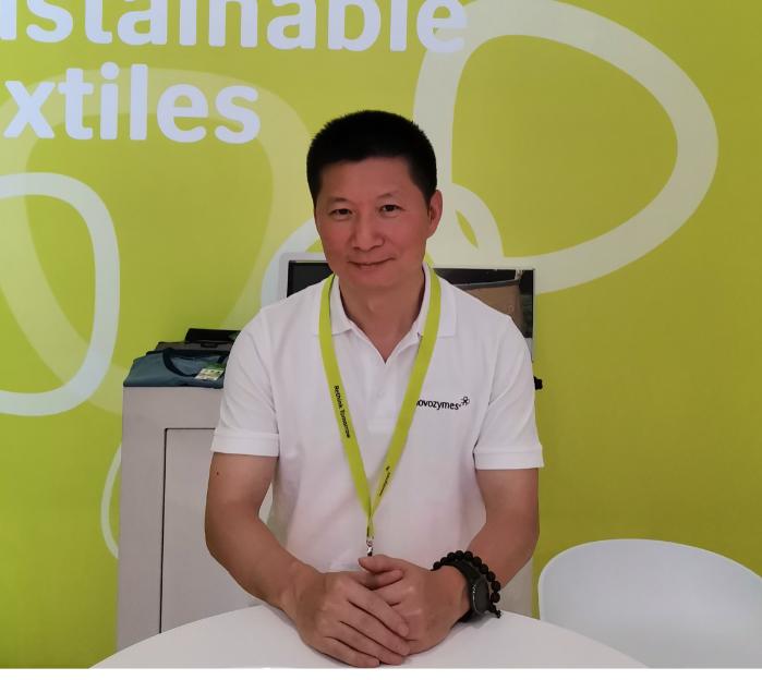 诺维信(中国)投资有限公司技术经理肖鸿照片