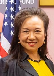 中美企业家商会常务副会长成功女企业家,从事中美进出口贸易,商品 批发零售二十多年,知名华人社团领袖,美国旧金山环球美女会会长Jenny Zhuang照片