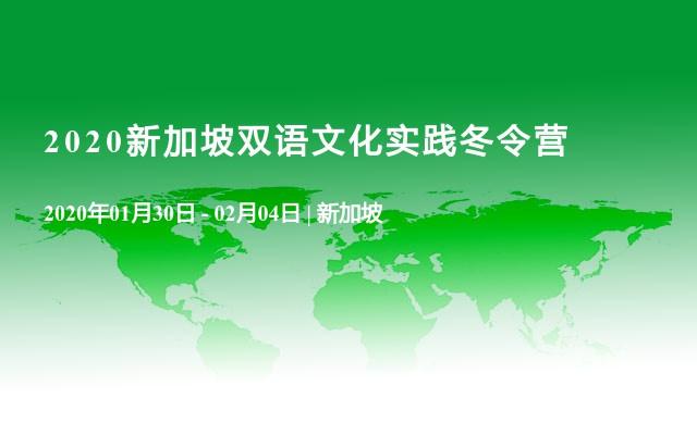 2020新加坡双语文化实践冬令营