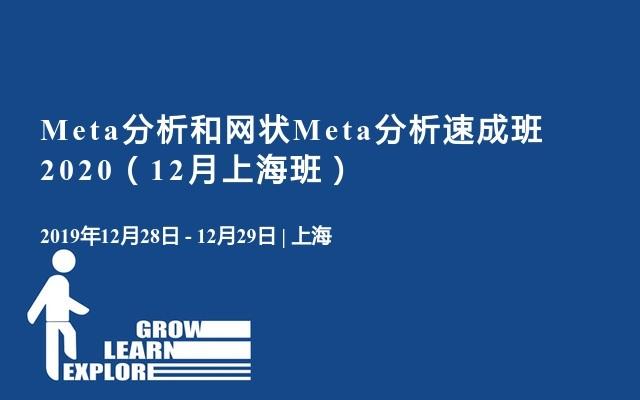 Meta分析和网状Meta分析速成班2020(12月上海班)