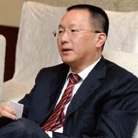 招商银行信用卡中心总经理刘加隆照片