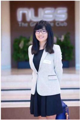 新加坡国立大学辩论队教练庞颖照片