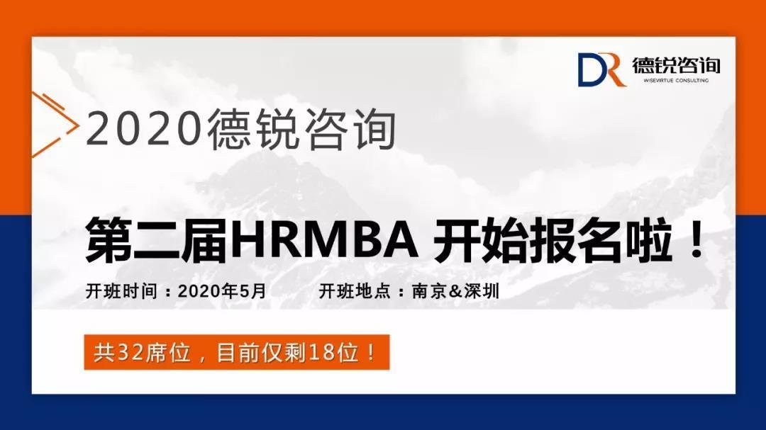 德锐第2届HRMBA班