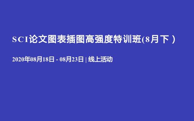 SCI论文图表插图高强度特训班(8月下)