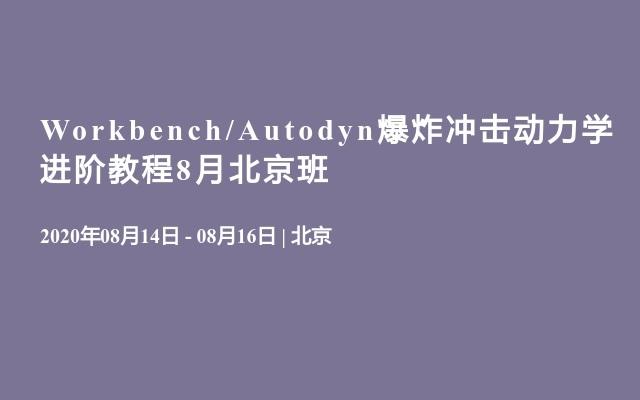 Workbench/Autodyn爆炸冲击动力学进阶教程8月北京班