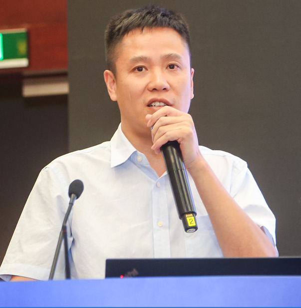 华为技术车联网产业发展营销总监张文远照片