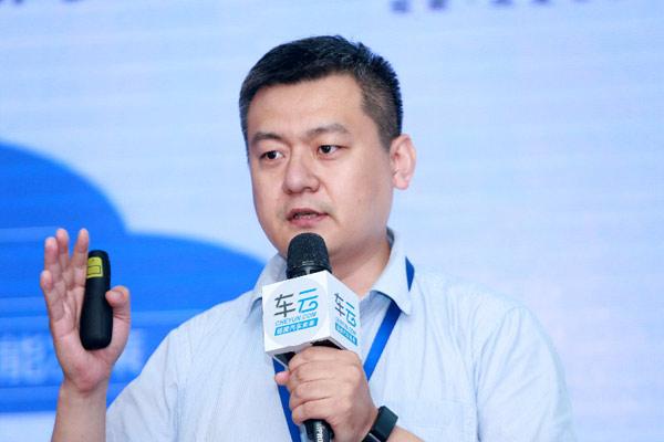 中国联通集团智网科技有限公司智能网联科学家周光涛照片