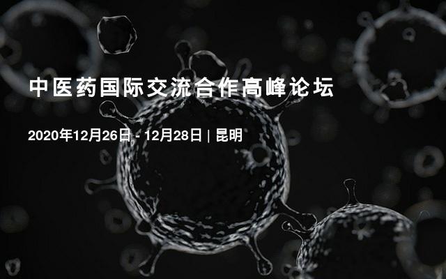 中医药国际交流合作高峰论坛