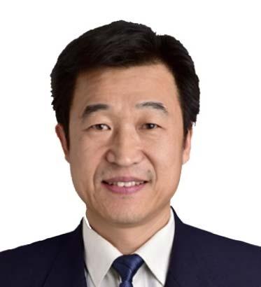 山東港口青島港自動化碼頭副總經理欒寶波照片