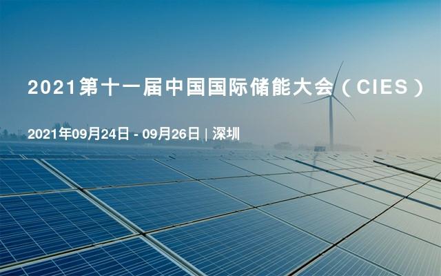 2021第十一屆中國國際儲能大會(CIES)