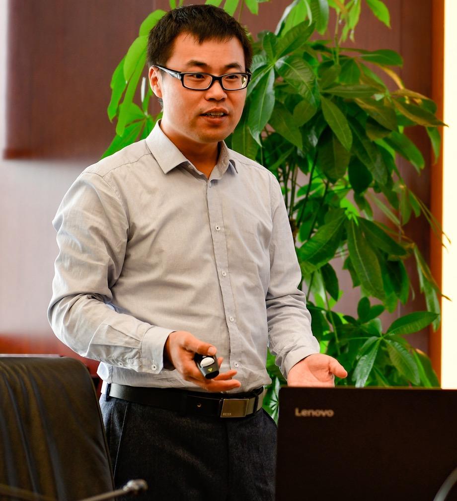 中信银行软件开发中心数据总工程师李少伟照片
