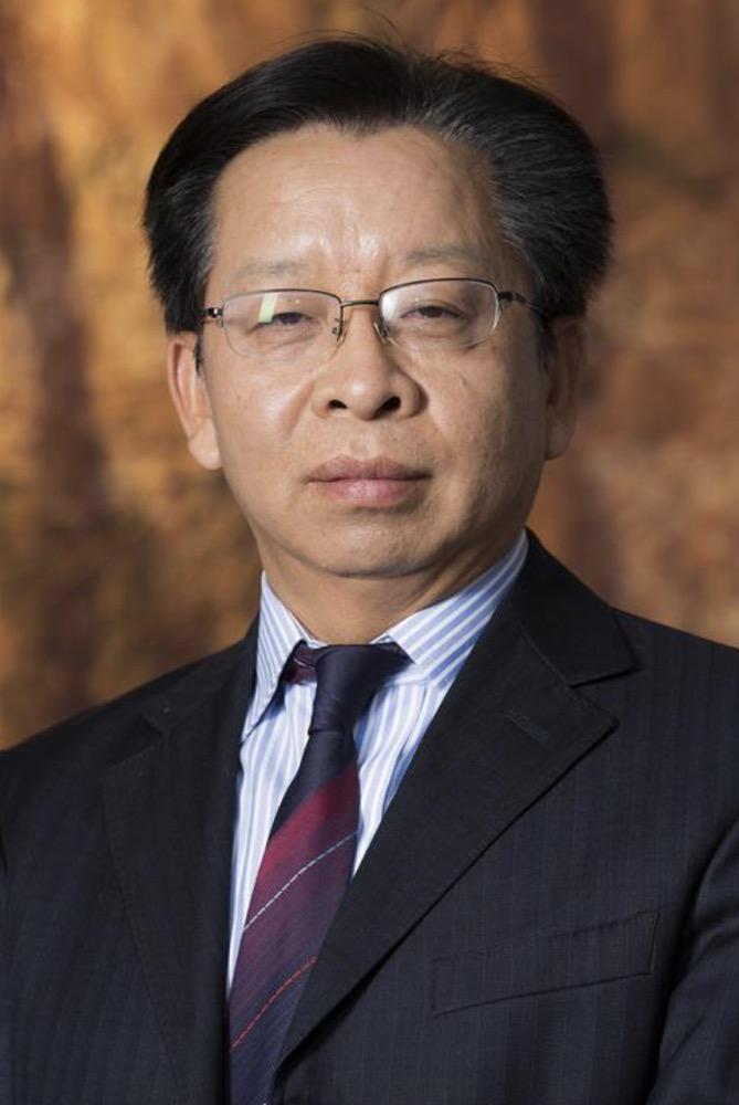 中国银行风险政策委员会  主席汪昌云照片