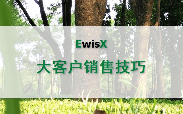 大客户销售技巧与项目运作实务 深圳8月20-21日