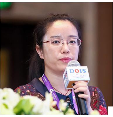 中国信息通信研究院云计算和大数据研究所治理与审计部副主任牛晓玲照片