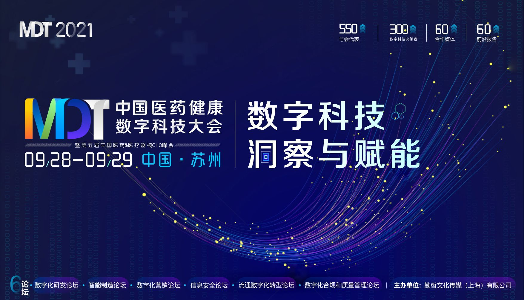 MDT 2021中國醫藥健康數字科技大會