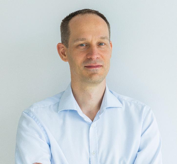 面向大众市场的无缝激光雷达集成BlickfeldCOO及常务董事Terje Noevig照片