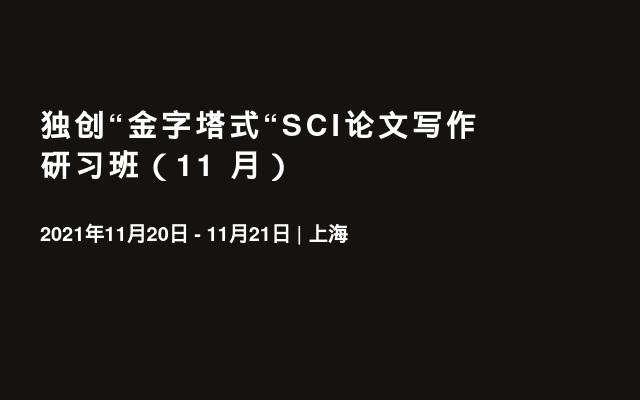 """独创""""金字塔式""""SCI论文写作研习班(11   月)"""