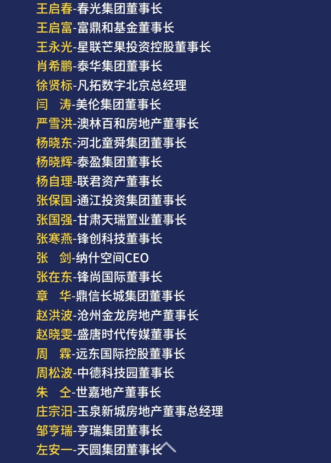2018(第九届)中国地产领袖年会