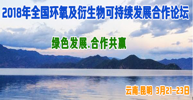 第二届全国环氧及衍生物可持续发展合作 (贵研)论坛