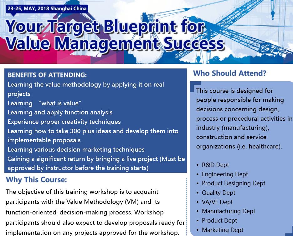Your Target Blueprint for Value Management Success