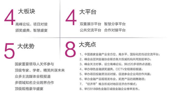 """第九届中国金融峰会暨2018年度""""绿色金融""""颁奖盛典"""