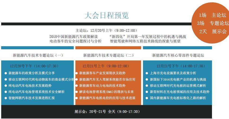 EVTech 2018 中国新能源汽车产业大会·合肥