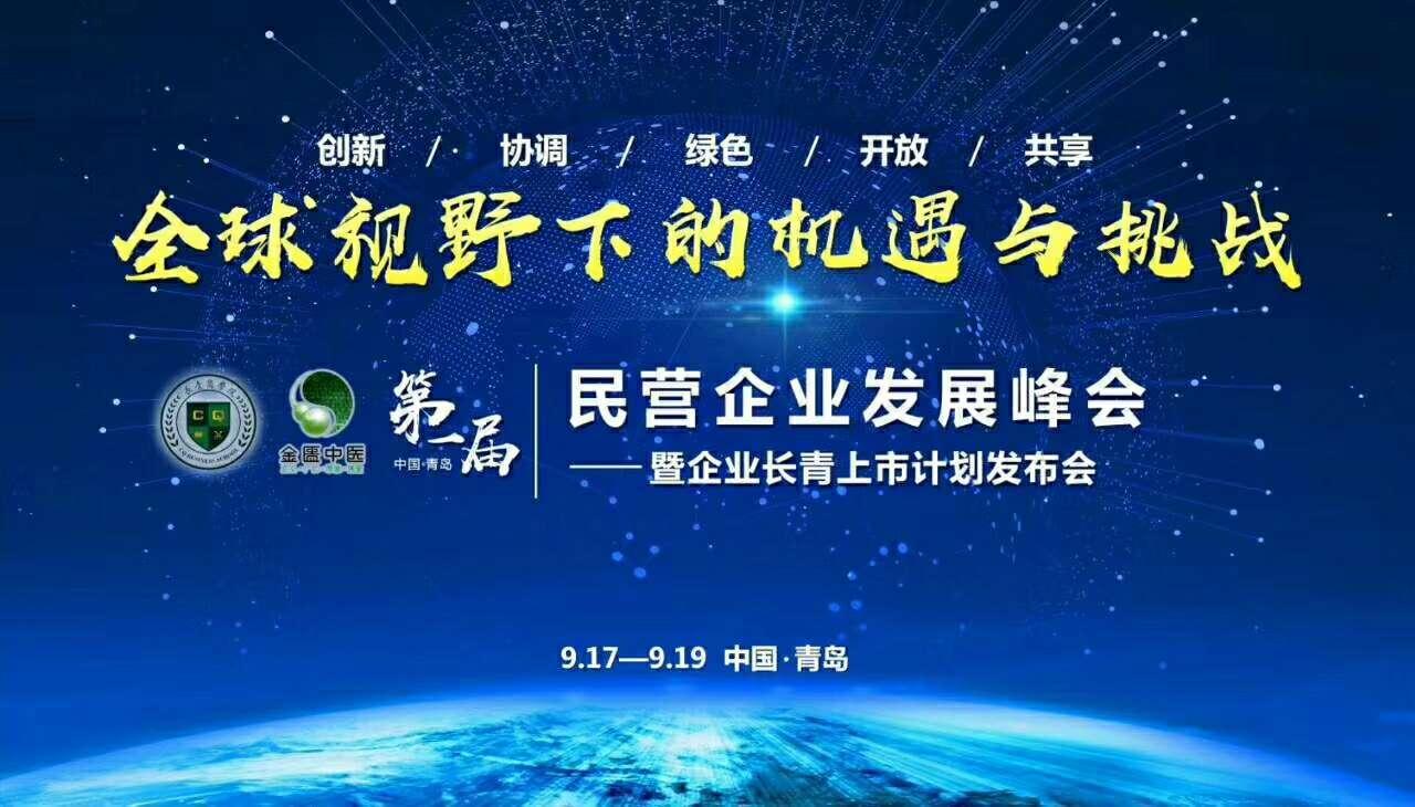 2018第一届民营企业发展峰会