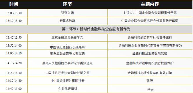 2018年麦穗杯中国金融科技暨企业社会责任峰会