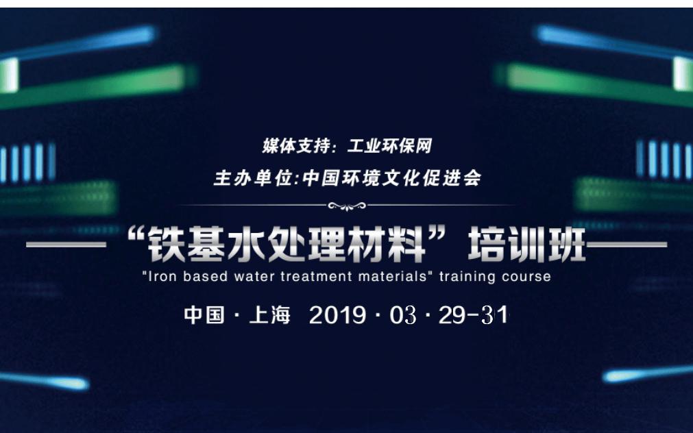 2019铁基水处理材料培训班(南京)