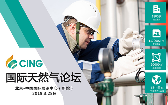 2019 CING国际天然气论坛(北京)