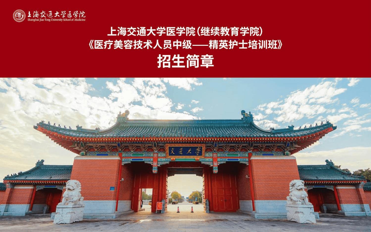 2019医疗美容技术人员初级/中级——行业精英培训班(上海)