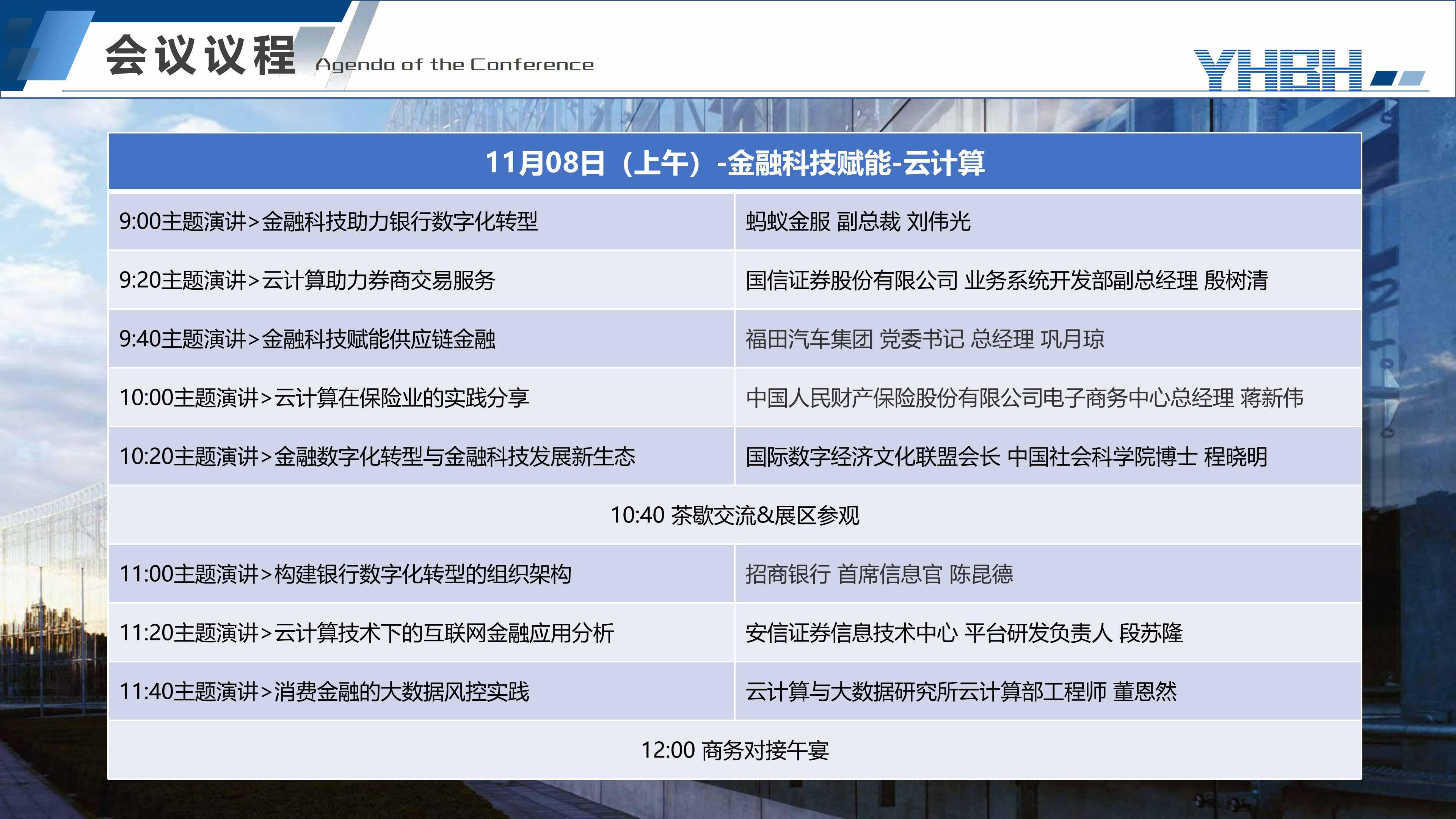2019中國金融科技國際峰會【大數據-云計算-AI-區塊鏈】