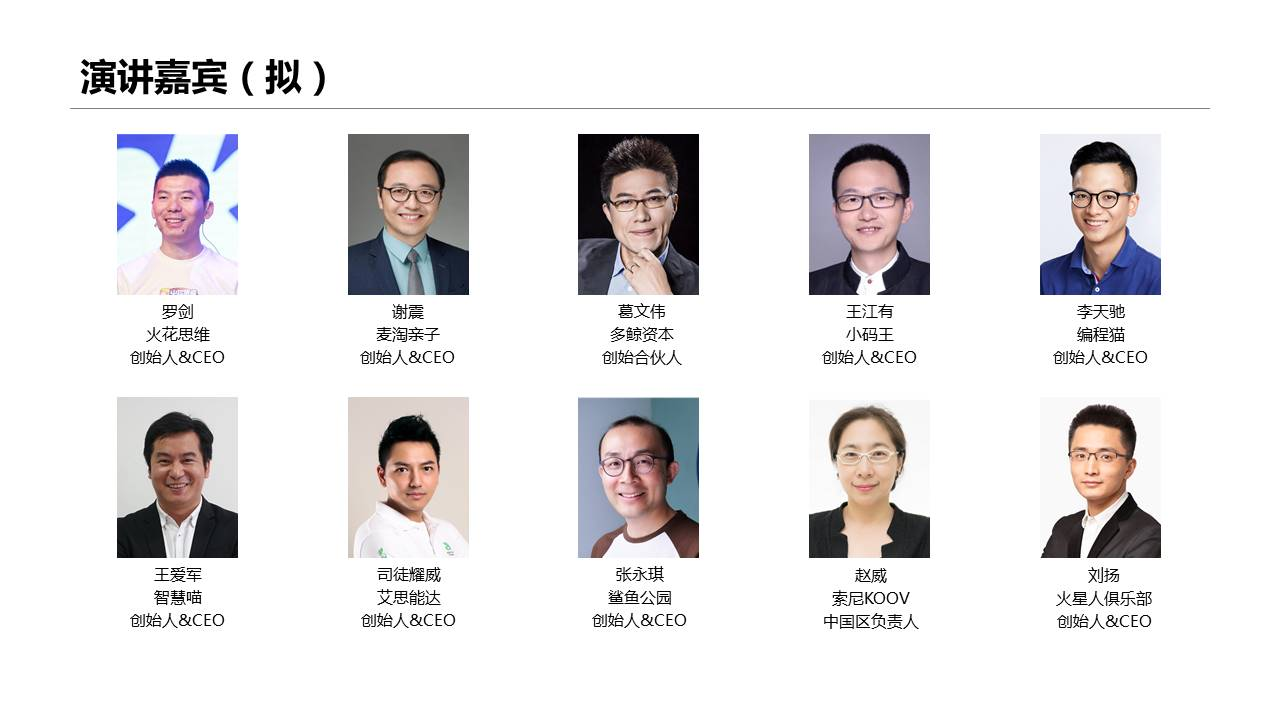 2019中国学前11选5发展大会(上海)
