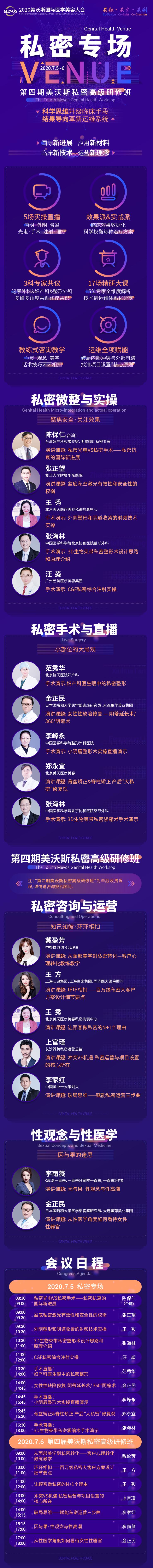 2020美沃斯国际医学美容大会(杭州)