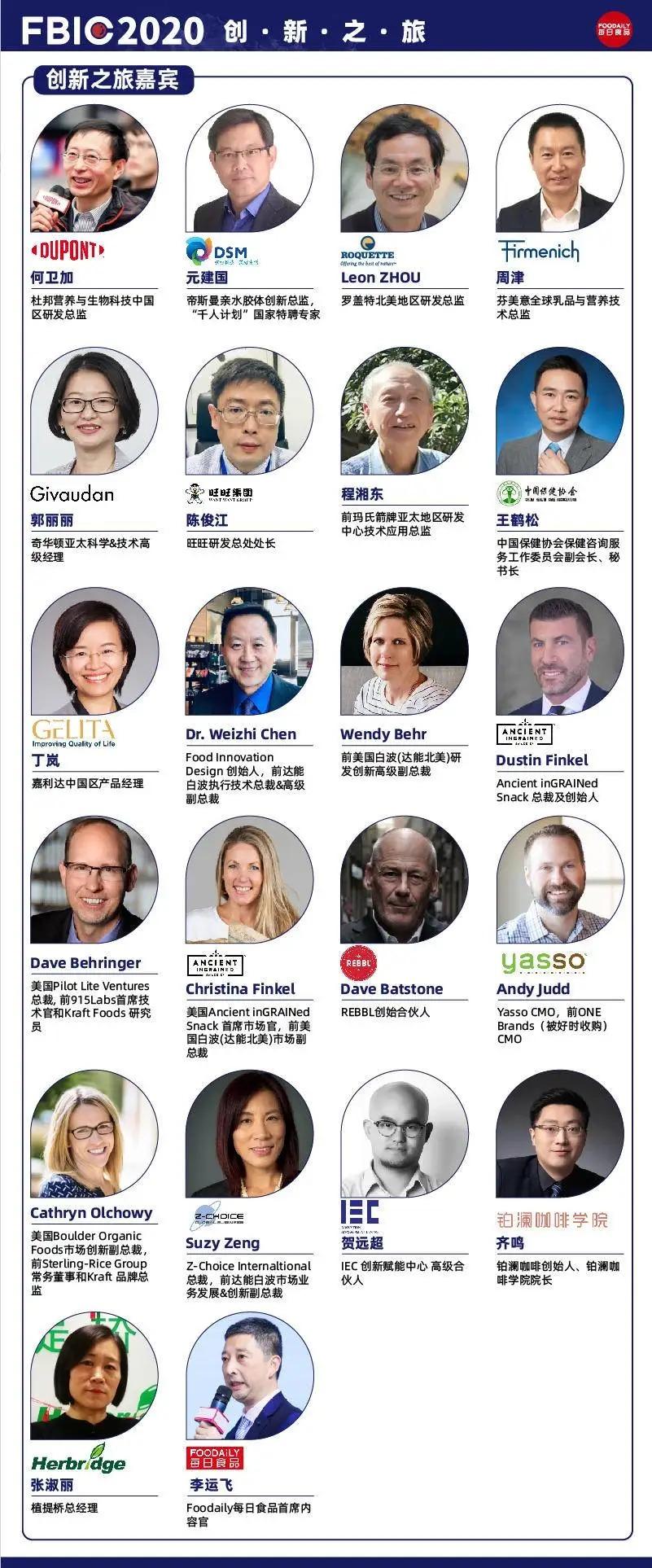 FBIC2020 全球食品饮料创新大会