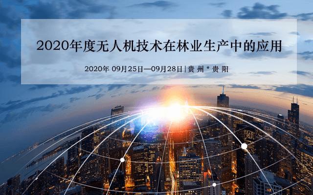 2020年无人机技术在林业生产中的应用(9月贵阳班)