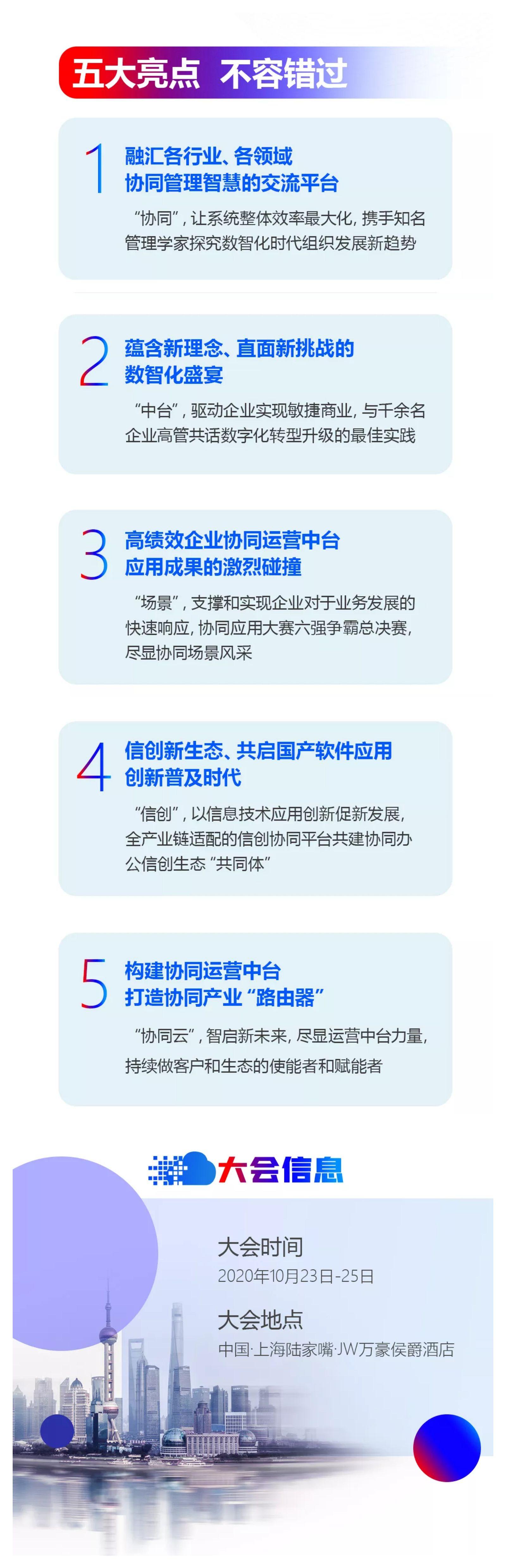 2020中国协同管理高峰论坛暨致远互联第十届用户大会