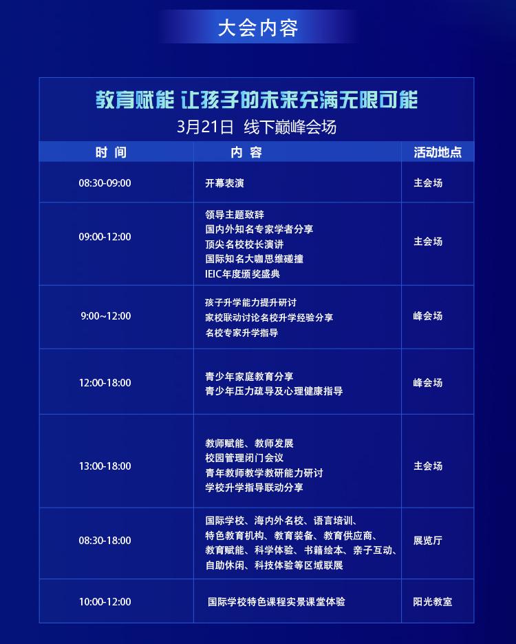 2021IEIC國際教育創新大會·北京站