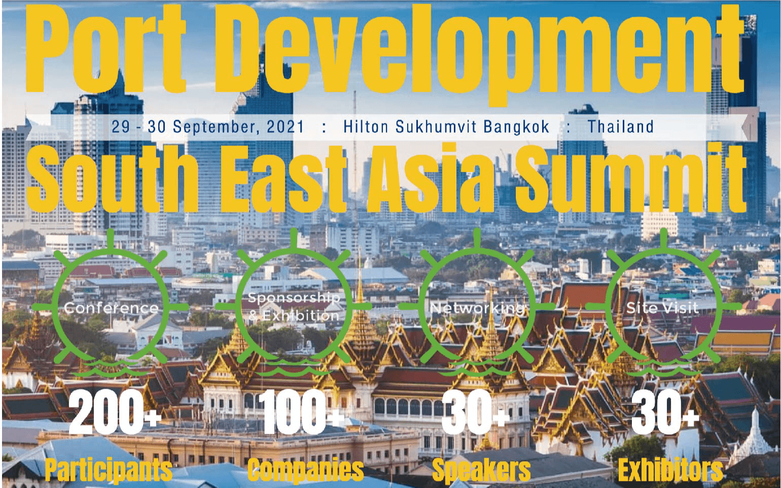 2nd Port Development South East Asia Summit 2021 第二届东南亚港口发展大会