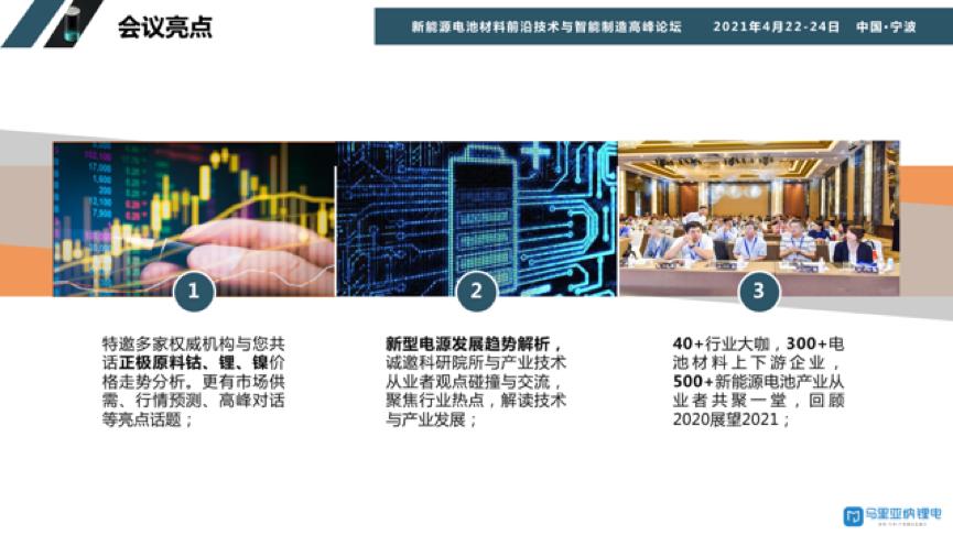 《新能源电池材料前沿技术与智能制造高峰论坛》暨2021正负极材料产业链市场与技术研讨会暨首届锂电池电解液技术与工艺装备交流会