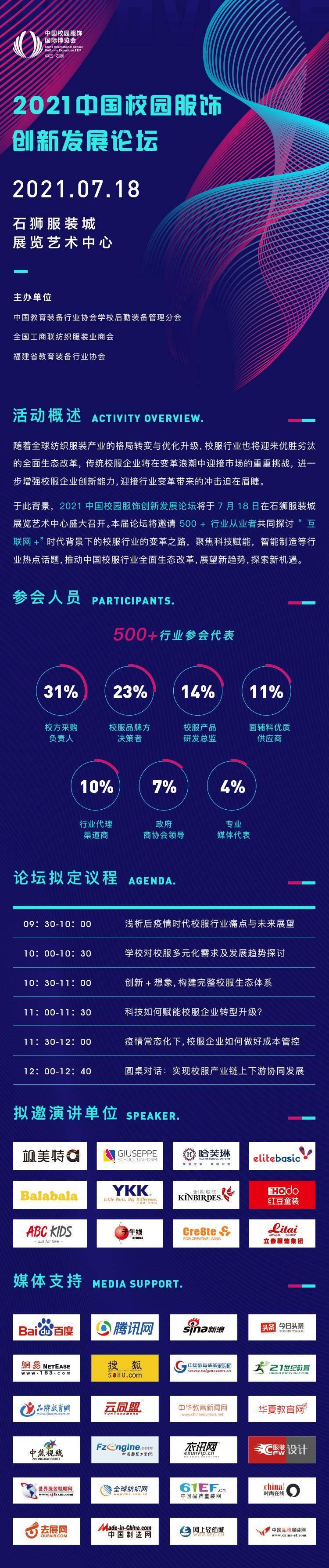 2021中国校园服饰创新发展论坛