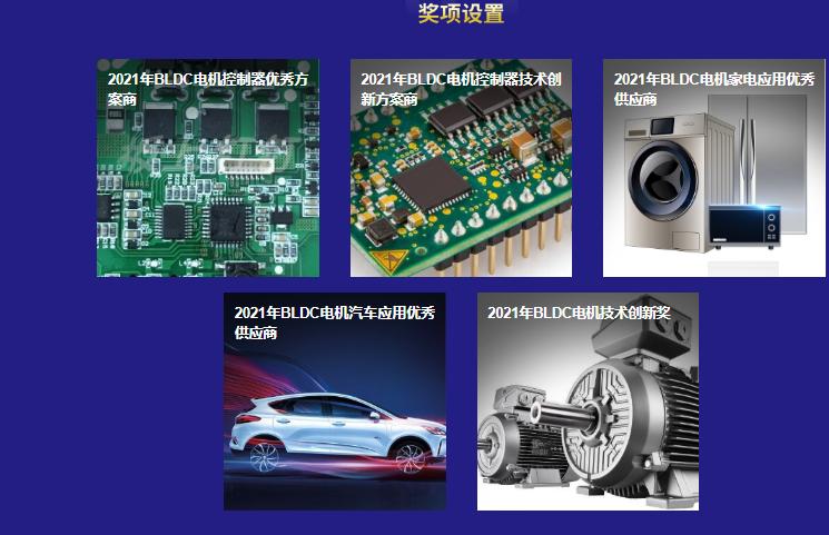 2021年BLDC电机与控制器行业评选