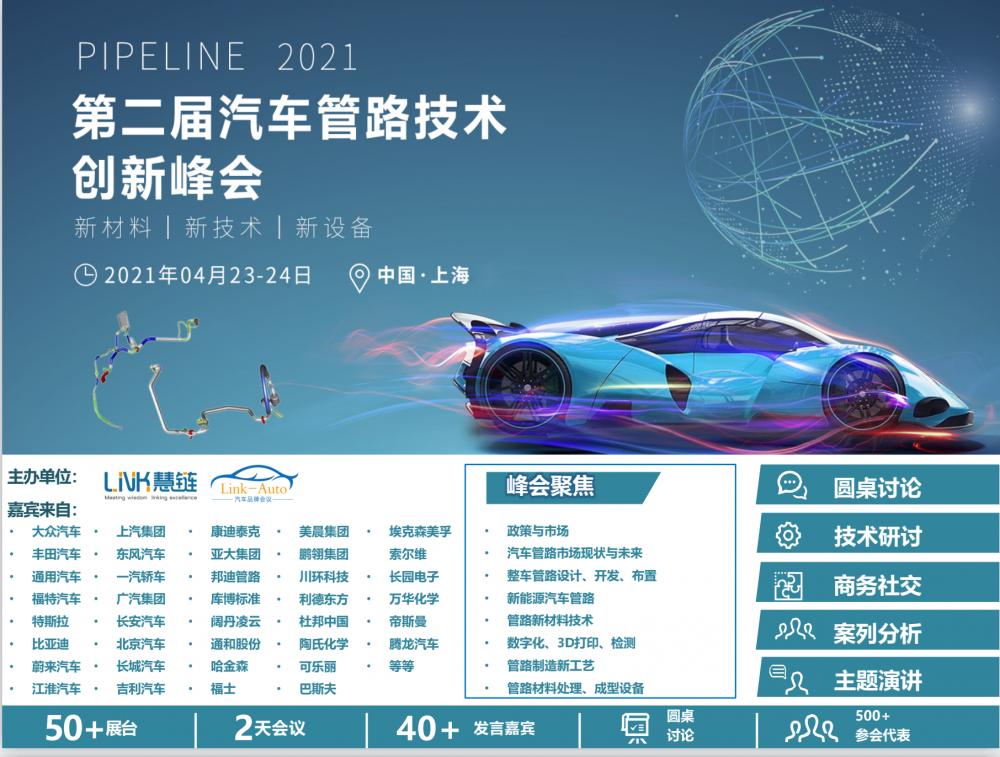 2021第二届汽车管路技术创新峰会