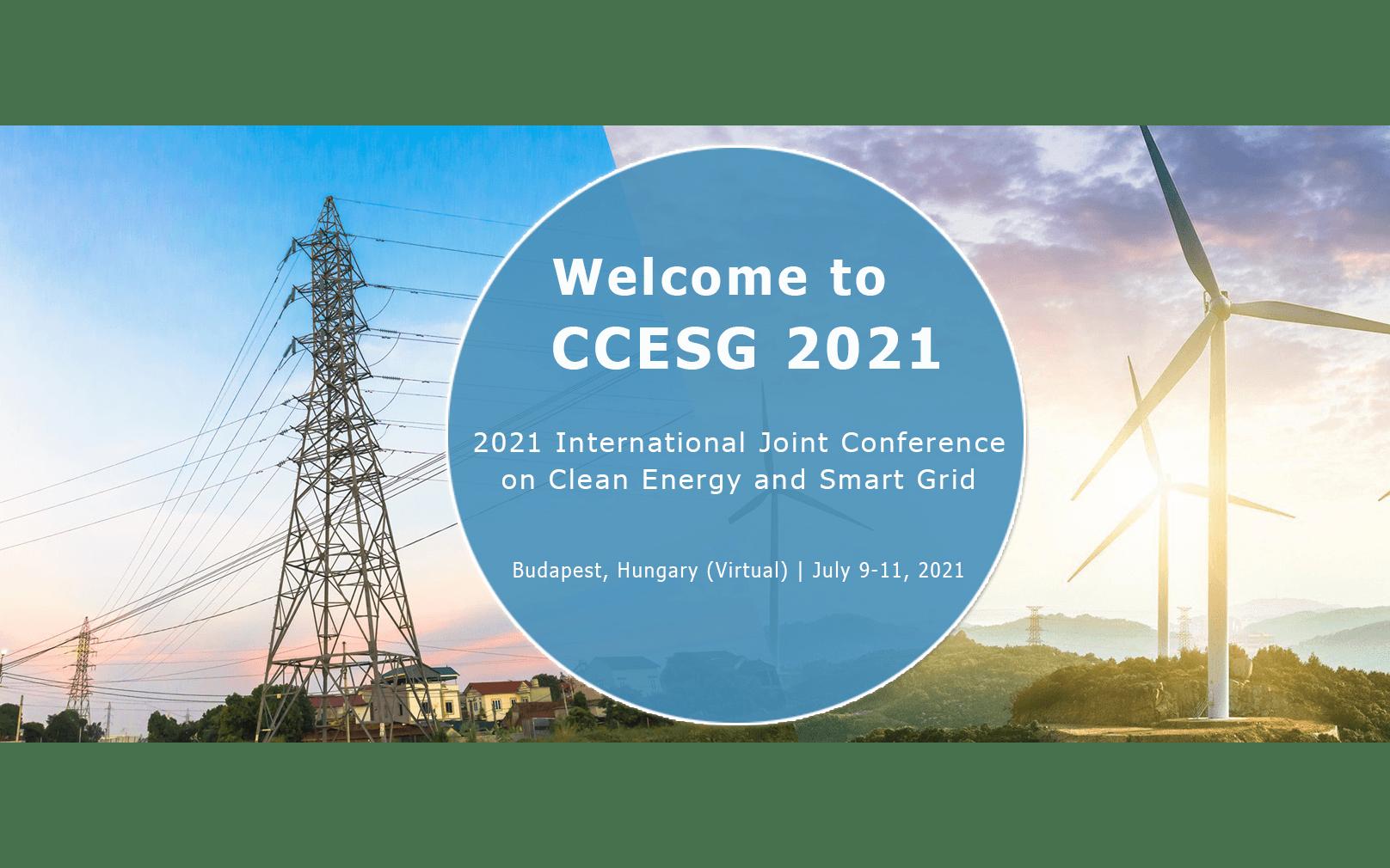 2021年第四届清洁能源与智能电网国际会议(CCESG 2021)EI检索