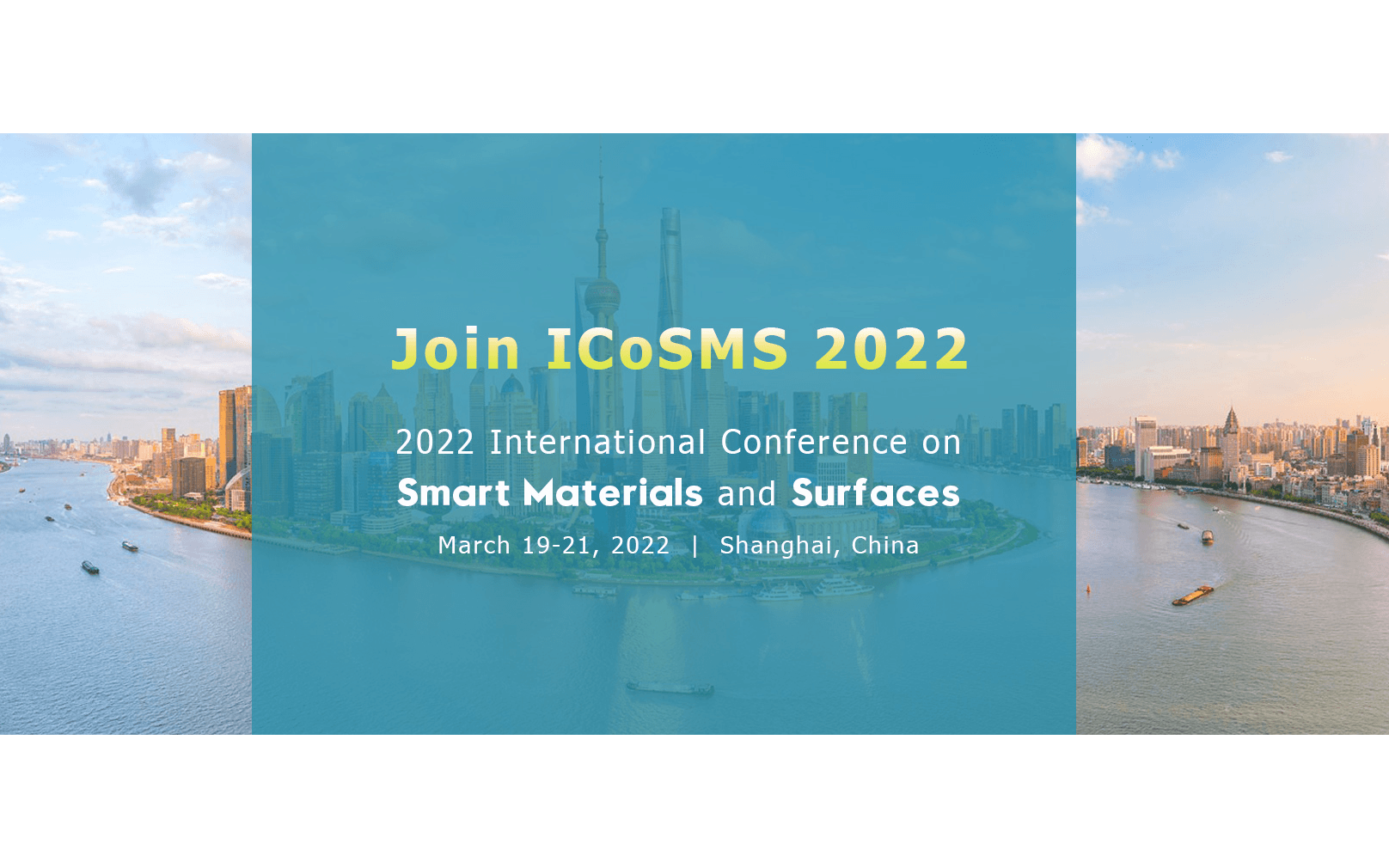 【EI检索】2022年智能材料与表面国际会议(ICoSMS 2022)