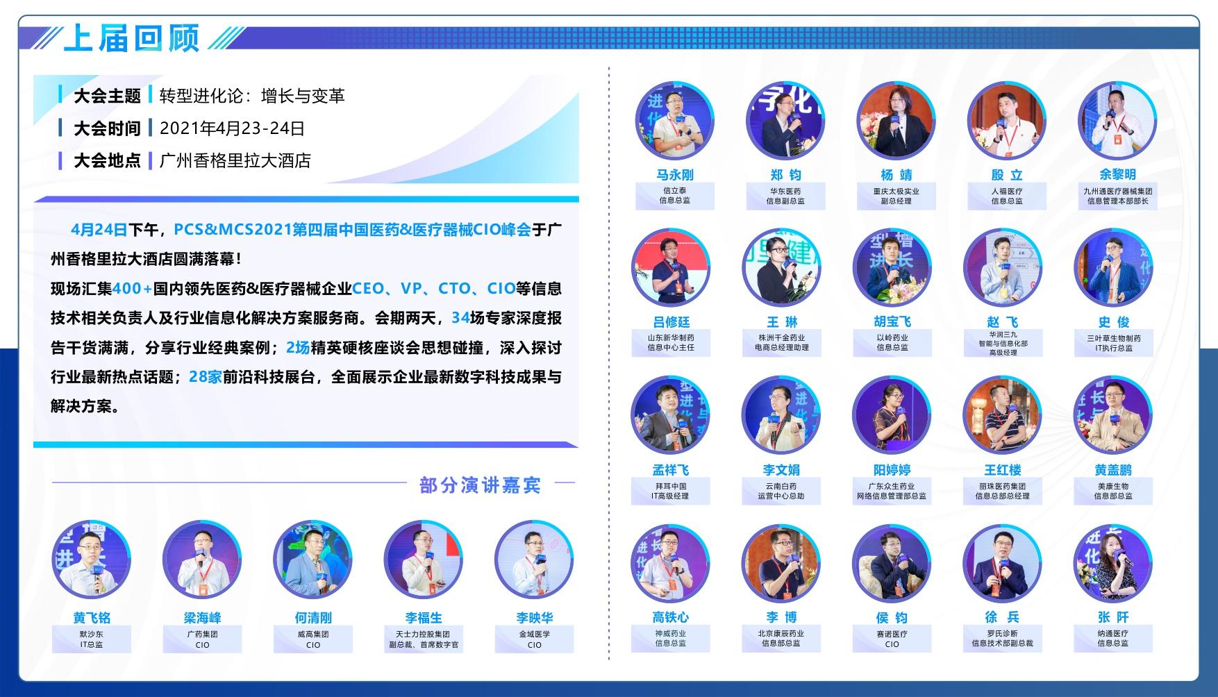 MDT 2021中国医药健康数字科技大会